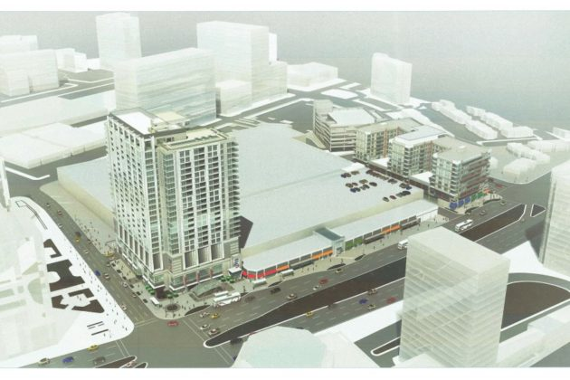 Pentagon Centre redevelopment first phase rendering