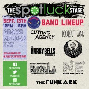 Spotluck music lineup
