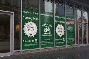 New Sweet Leaf location on N. Glebe Road in Ballston