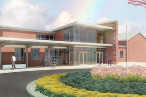 Abingdon Elementary School renovation rendering