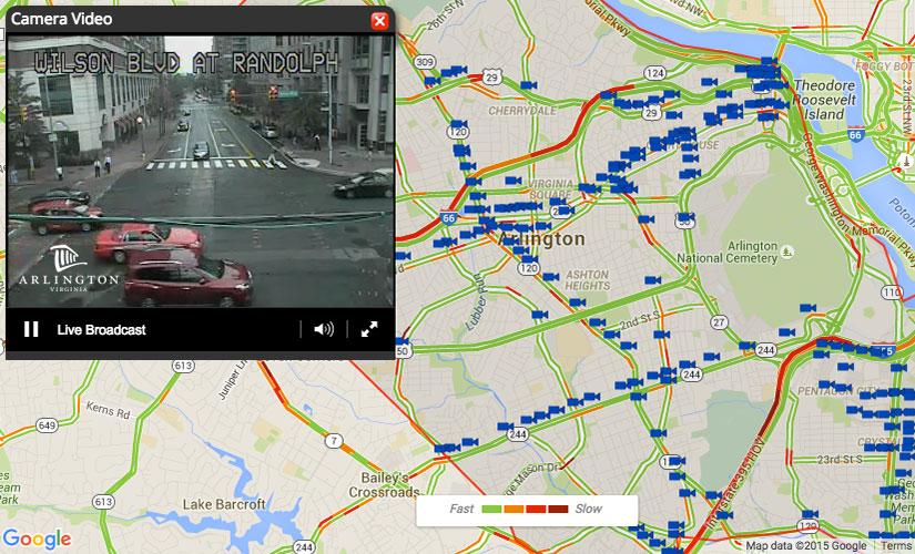 County Launches Traffic Camera Website | ARLnow.com