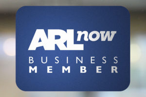ARLnow business membership sticker