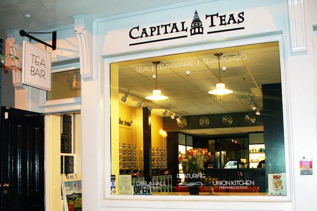 A Capital Teas store (Courtesy of Capital Teas)
