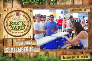 Backyard beer fest poster