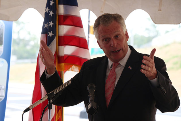Gov. Terry McAuliffe