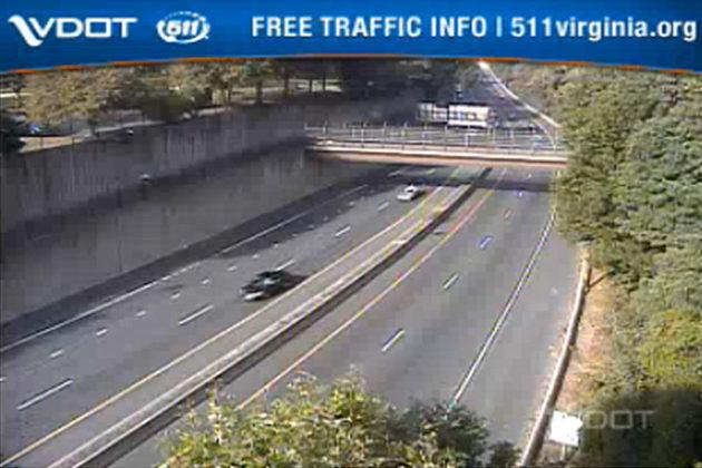 I-66 during Thursday morning's rush hour