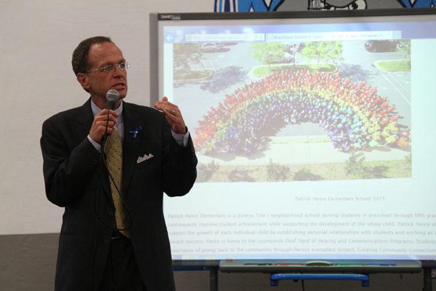 Superintendent Dr. Patrick Murphy