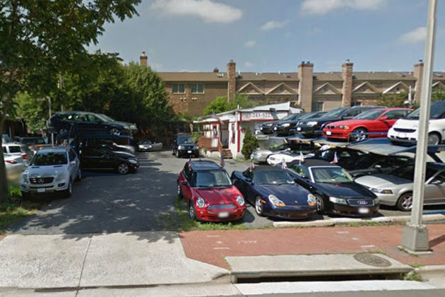 670 N. Glebe Road in 2014 (via Google Maps)