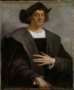 Christopher Columbus (photo via Wikipedia)