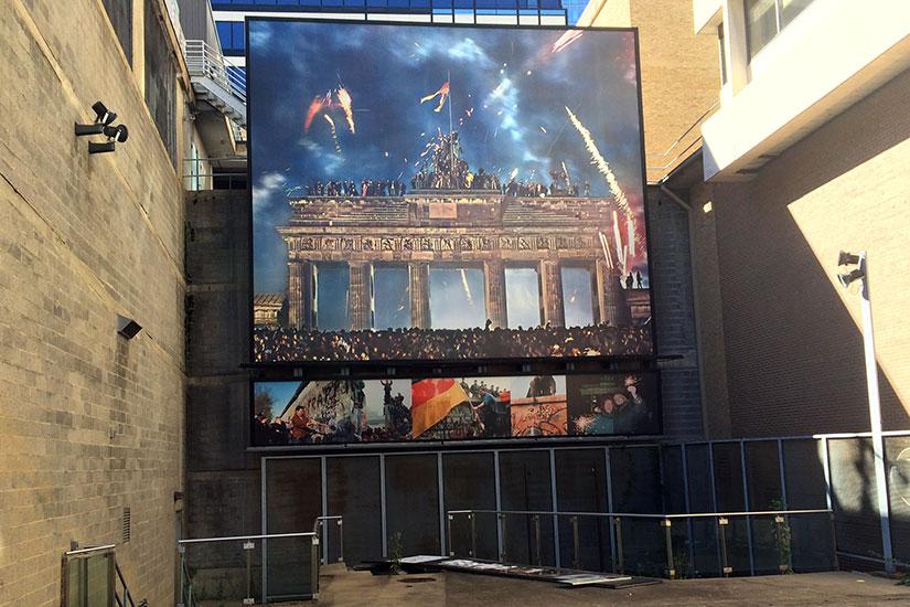 berlin wall exhibit