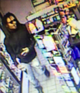 Sunoco robbery suspect (photo via ACPD)