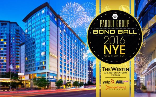 New Year's Eve Bond Ball 2016
