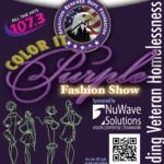 2015 ORHF Fashion Show Flyer