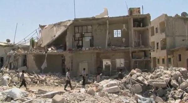 Civil war in Syria (photo via Wikipedia)