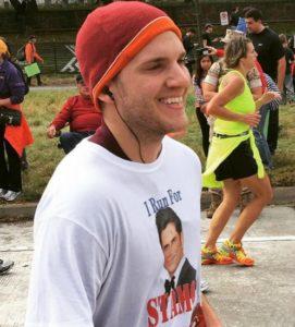 Hurley I Run for Stamos (courtesy of Brendan Hurley)