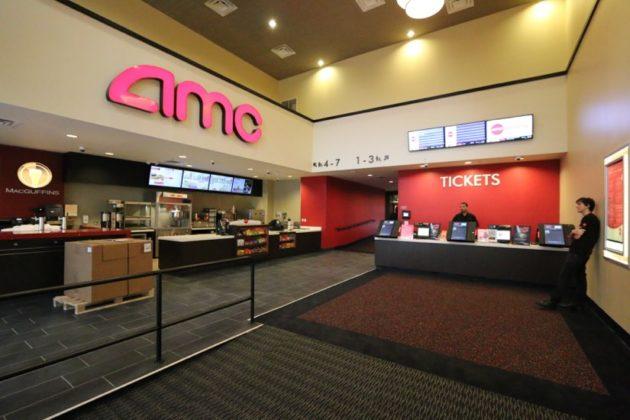 Lobby of AMC Shirlington 7 near Springfield VA