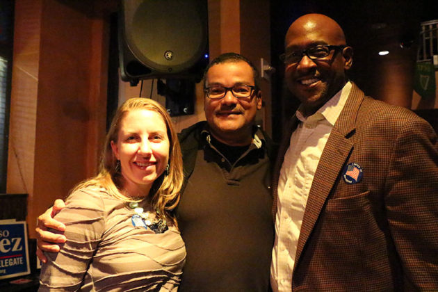 Democrats' victory party at P. Brennan's on Columbia Pike