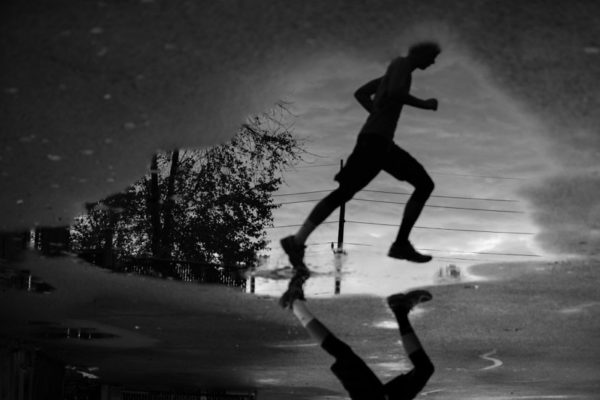 Puddle runner (Flickr pool photo by Kevin Wolf)