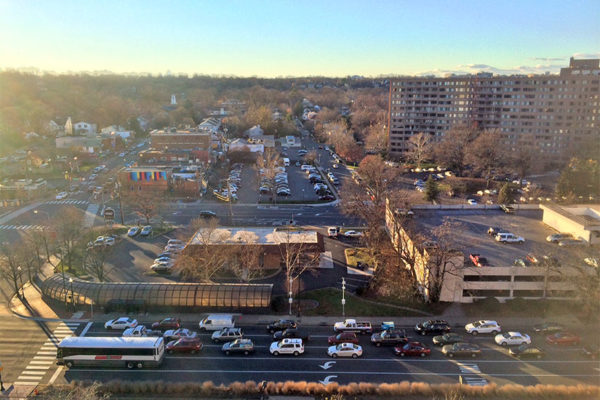 23rd Street and and Aurora Highlands seen from the future WeWork offices in Crystal City