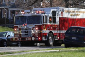 ACFD Arlington County Fire rescue engine (file photo)