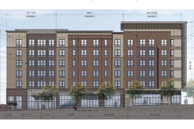 Plans for affordable apartment building on Arlington Presbyterian Church site