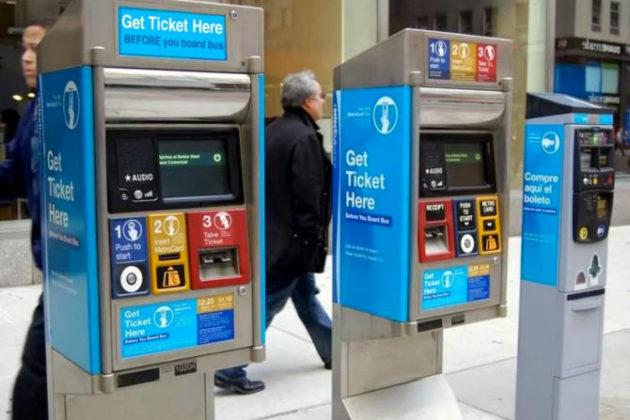 Off-board fare collection. Photo via Arlington County