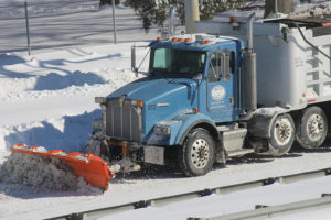 snow plow jan. 24
