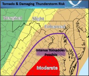 Storm risk Feb. 24, 2016 (image via NWS)