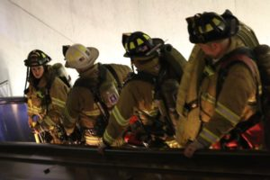 Fire department response to smoke in Pentagon City Metro tunnel