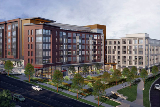 Rendering of Columbia Pike Village Centre
