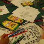 Crayons / coloring (photo courtesy Arlington Public Library)