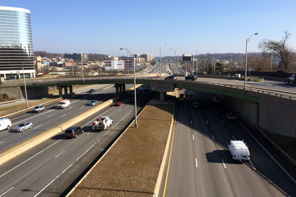Shirlington Circle on I-395