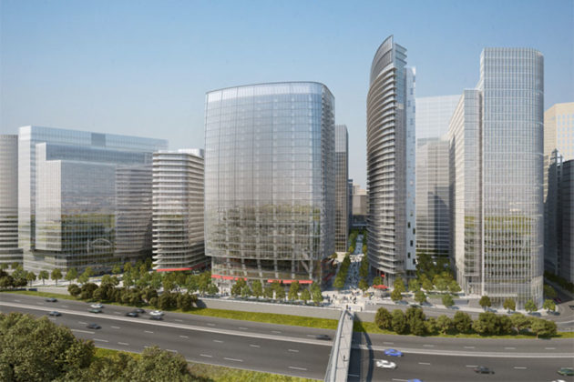 Rosslyn Plaza rendering