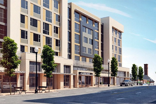 Rendering of 2400 Columbia Pike development