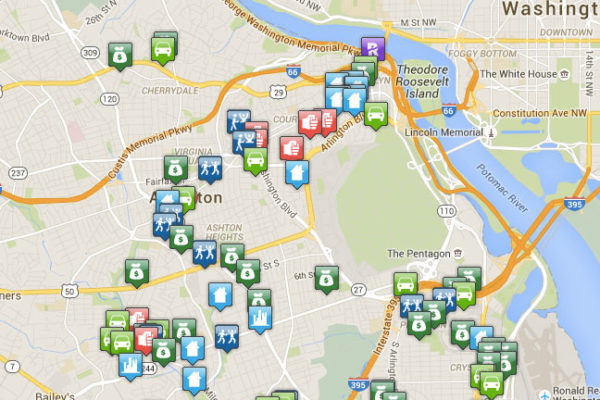 Arlington crime map