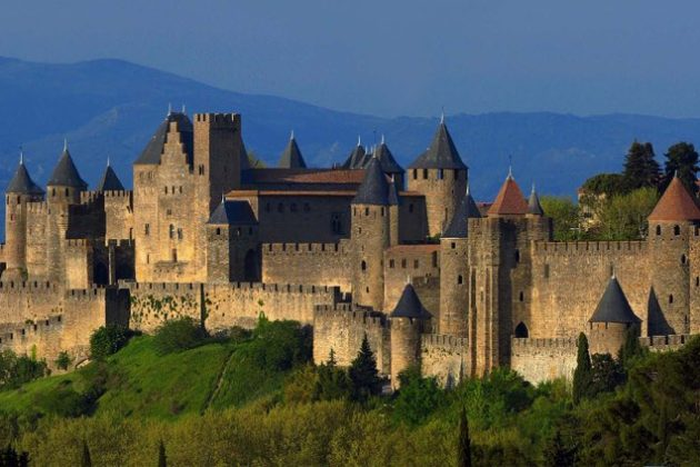 Carcassonne, one of the most breathtaking and impressive fortified cities in Europe.
