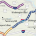 I-395 Express Lanes map