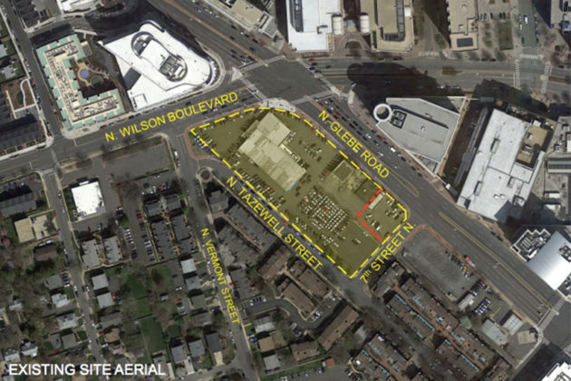 750 N. Glebe Road development site