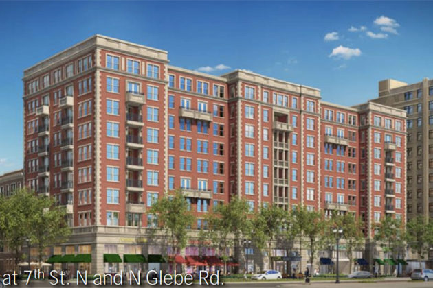 750 N. Glebe Road development rendering