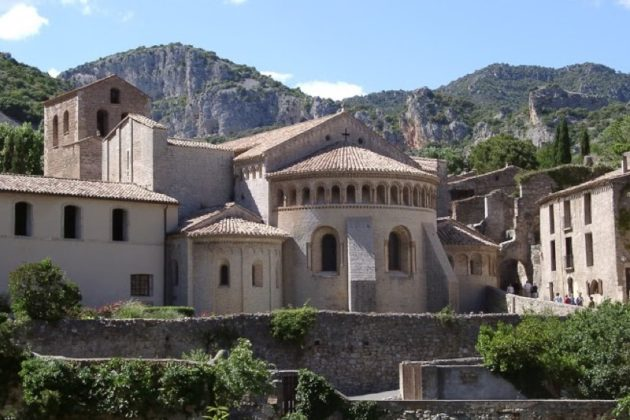 St Guilhem le Desert, a preserved medieval city, the crown jewel of the Languedoc region.