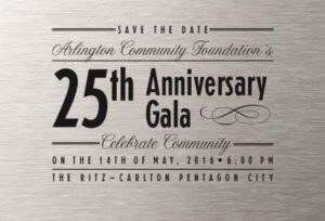 Arlington Community Foundation fundraiser