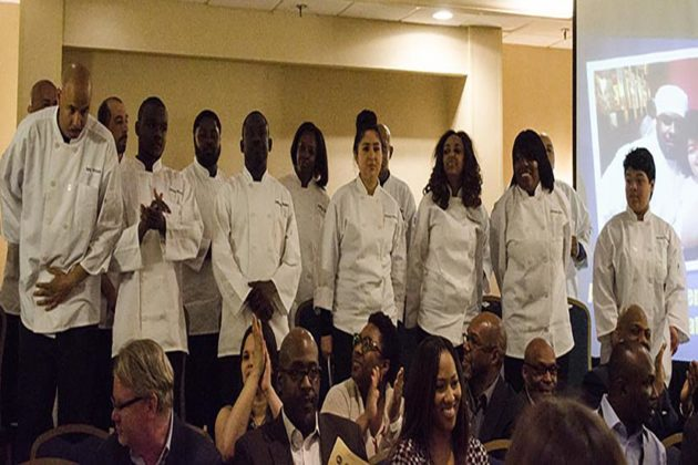 Graduates of the culinary program
