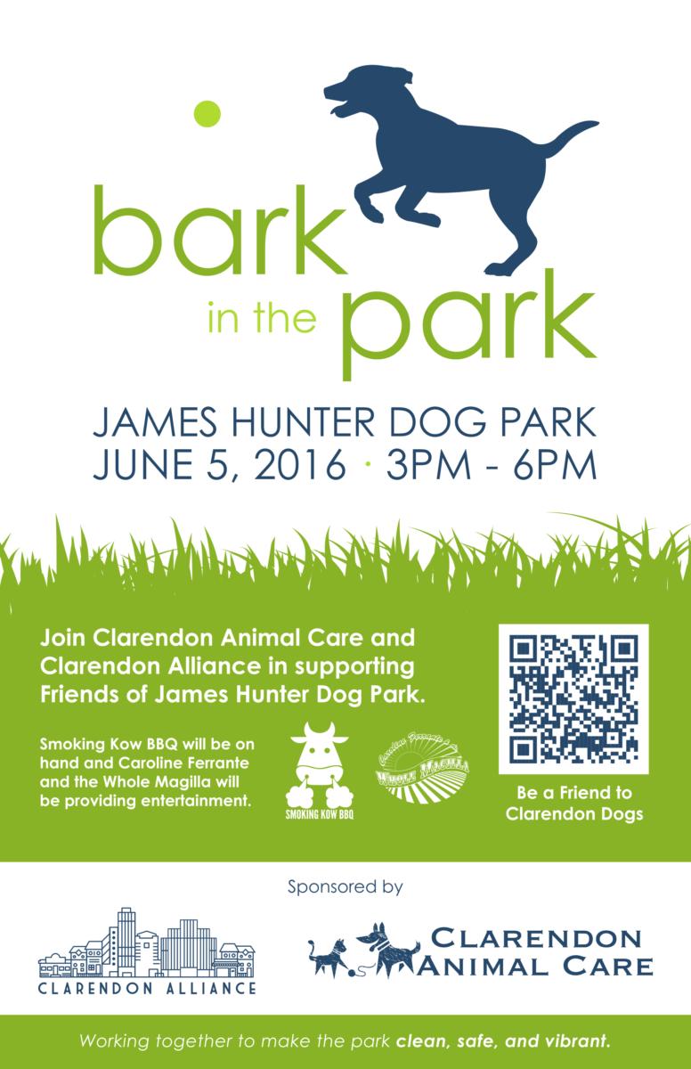 Clarendon Dog Park Event