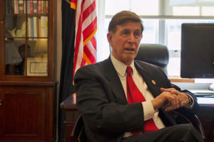 Rep. Don Beyer in his Capitol Hill office (file photo)