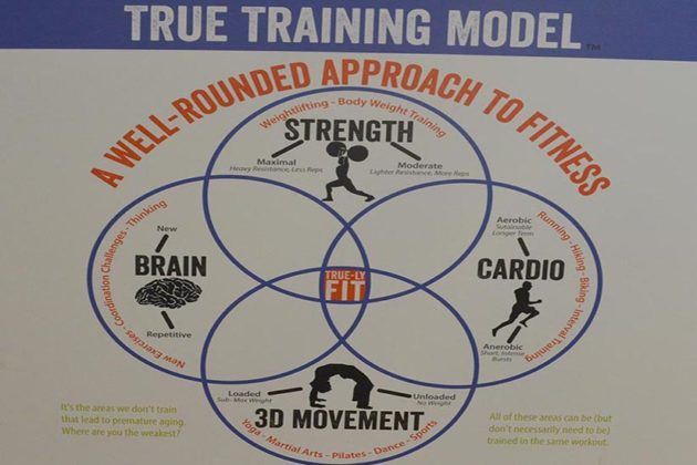True Health and Wholeness training model