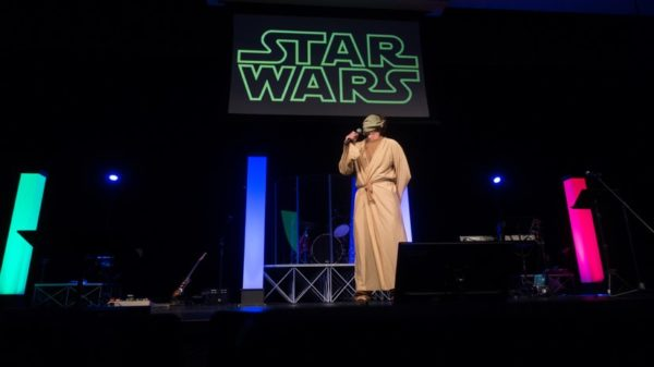 Star Wars-themed Grace Community Church service in Arlington (Flickr pool photo by John Sonderman)