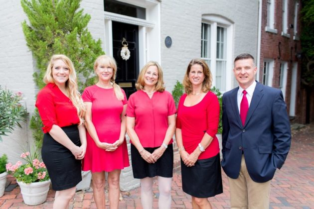 Ann Wilson Team, l-r: Chelsea Jacobs, Nancy Carter, Ann Wilson, Cindy May and Todd Lee