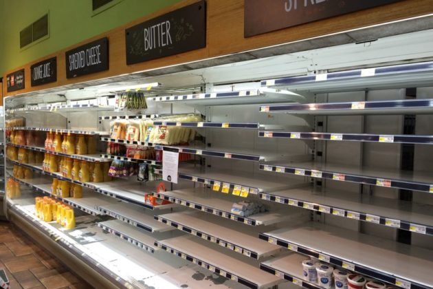 Clarendon Whole Foods after the power outage