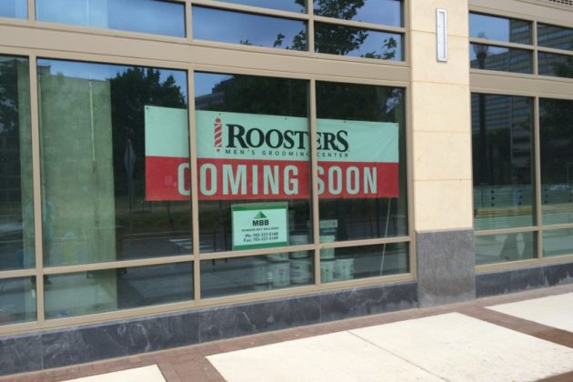 Future Roosters Men's Grooming Center in Pentagon City
