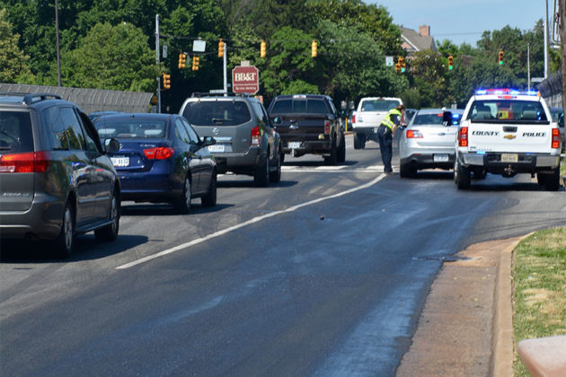 Grease spill in East Falls Church (photo courtesy Andrew Pang)